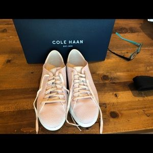 Cole Haan Blush tennis shoes